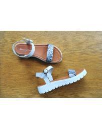Бели дамски ежедневни сандали Caterina
