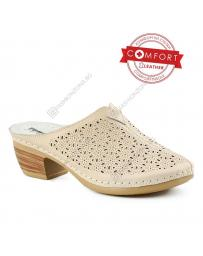 Бежови дамски ежедневни чехли Ariadna в online магазин Fashionzona