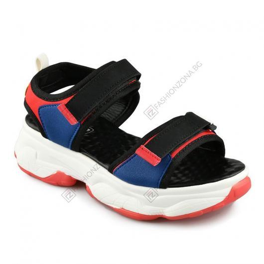 Черни дамски ежедневни сандали Marta