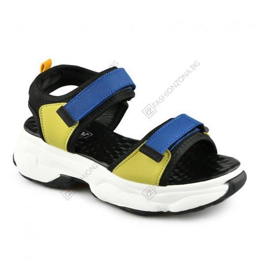 Черни дамски ежедневни сандали Imelda