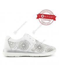 Бели дамски ежедневни обувки Felisa