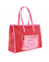 Червена дамска ежедневна чанта Isabelita