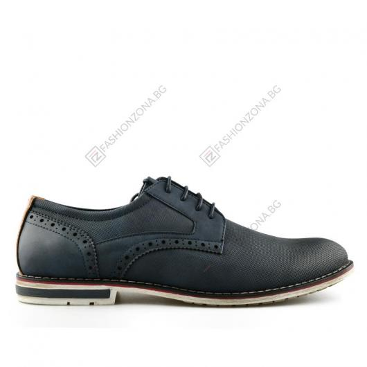 Сини мъжки ежедневни обувки Florez