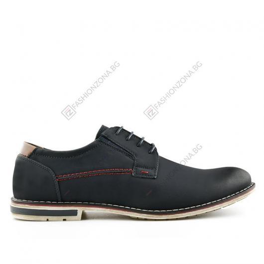Сини мъжки ежедневни обувки Benicio