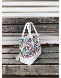 Бяла дамска ежедневна чанта Estafania