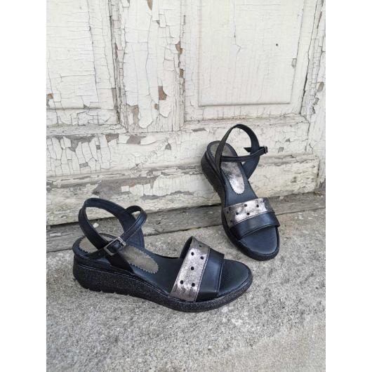 Черни дамски ежедневни сандали Annamaria