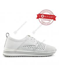 Бели дамски ежедневни обувки Miguela