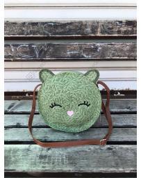 Зелена дамска ежедневна чанта Fortuna