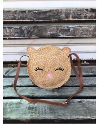 Кафява дамска ежедневна чанта Amanda