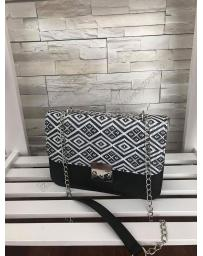 Черна дамска ежедневна чанта Leokadia