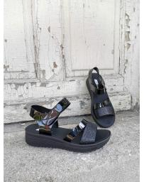 Черни дамски ежедневни сандали Ninita