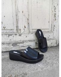 Черни дамски ежедневни чехли Lediana в online магазин Fashionzona