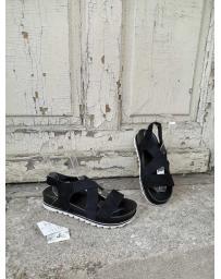 Черни дамски ежедневни сандали Zefera