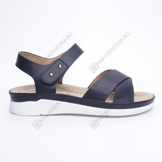 Сини дамски ежедневни сандали Bahia