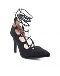 Черни дамски елегантни обувки Rae