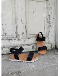 Черни дамски ежедневни сандали Fernanda