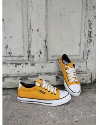 Жълти дамски ежедневни обувки Virginia