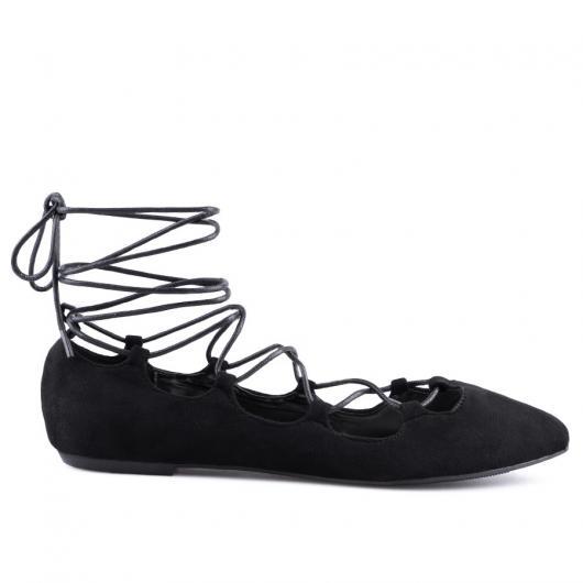 Черни дамски ежедневни обувки Marriposa