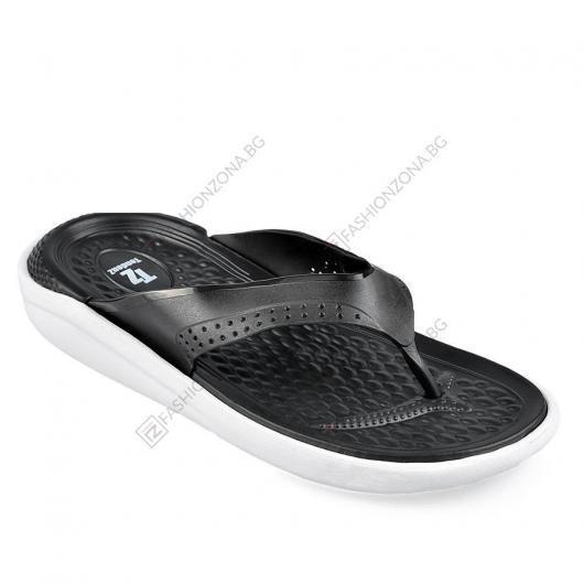 Черни мъжки ежедневни чехли Noah