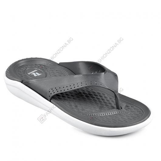 Сиви мъжки ежедневни чехли Chito