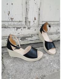 Черни дамски ежедневни сандали Petronila