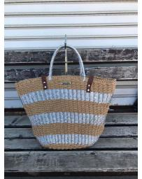 Бежова дамска ежедневна чанта Agata