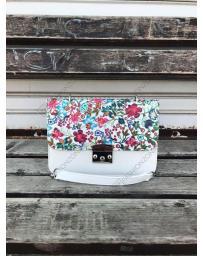 Бяла дамска ежедневна чанта Lorca