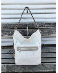 Бежова дамска ежедневна чанта Berenice