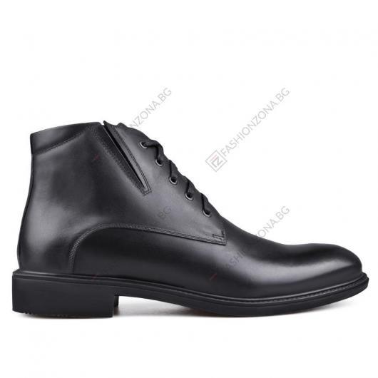 Черни мъжки елегантни боти Ennio