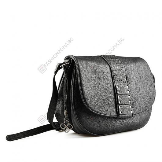Черна дамска ежедневна чанта Luciana