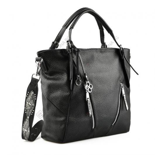 Черна дамска ежедневна чанта Prisilla