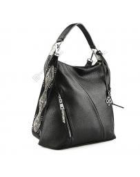 Черна дамска ежедневна чанта Tirsa