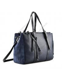 Синя дамска ежедневна чанта Luisina