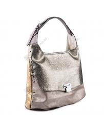 Бежова дамска ежедневна чанта Graziella