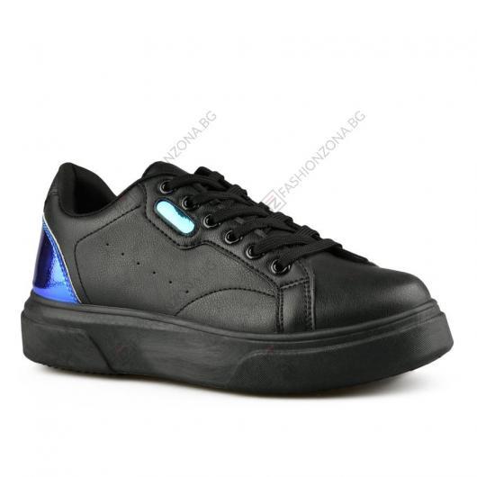 Черни дамски ежедневни обувки Gervasia