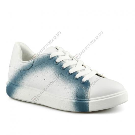 Бели дамски ежедневни обувки Priscilla