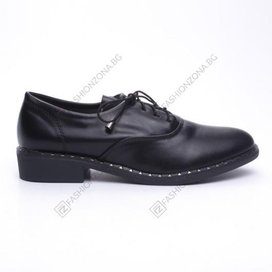 Черни дамски ежедневни обувки Ilsa