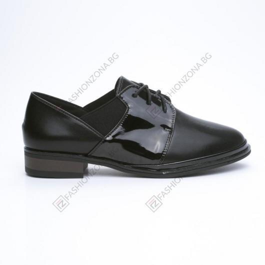 Черни дамски ежедневни обувки Liliela