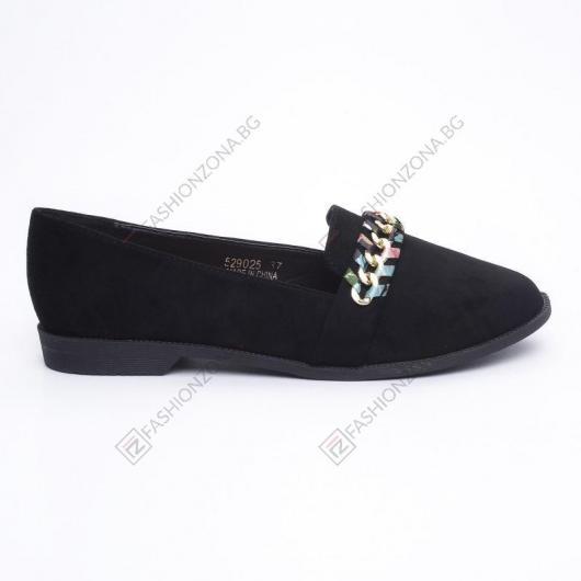 Черни дамски ежедневни обувки Melia