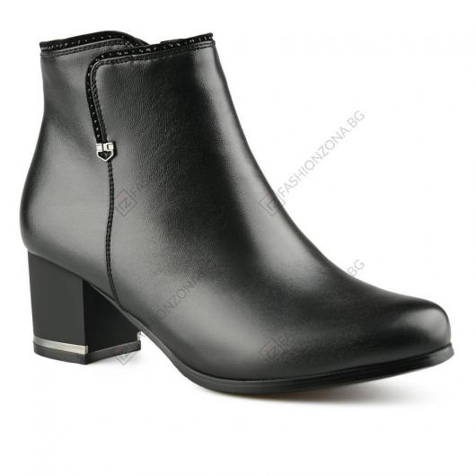 Черни дамски елегантни боти Paloma