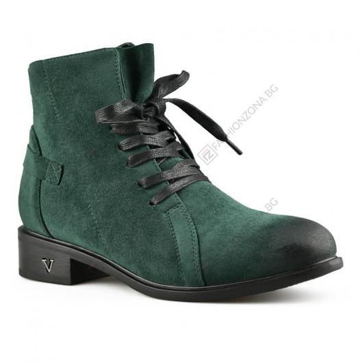 Зелени дамски ежедневни боти Norita