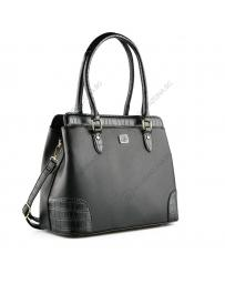 Черна дамска ежедневна чанта Aroa