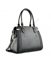 Черна дамска ежедневна чанта Engracia