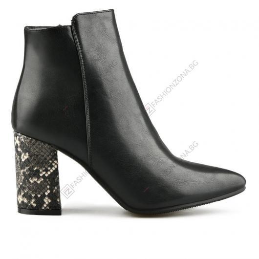 Черни дамски елегантни боти Filippa