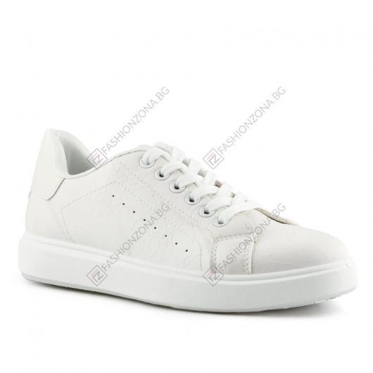 Бели дамски ежедневни обувки MariaSole