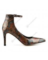 Кафяви дамски елегантни обувки Isa