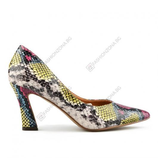 Цветни дамски елегантни обувки Flavia