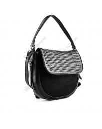 Черна дамска ежедневна чанта Adelasia