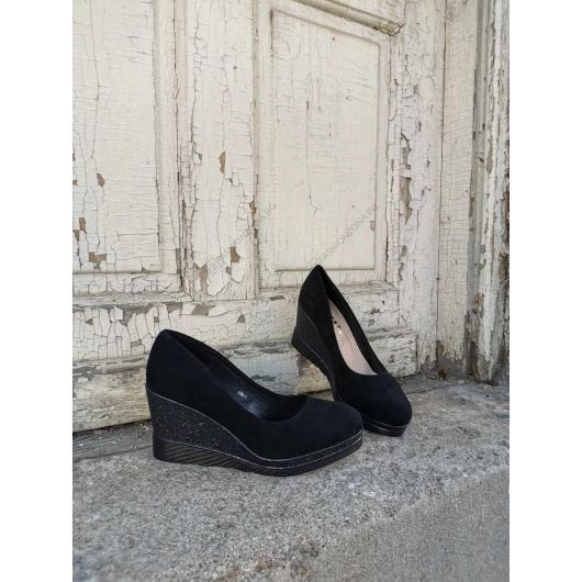 Черни дамски ежедневни обувки Pierluigi