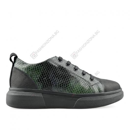 Черни дамски ежедневни обувки Gitana